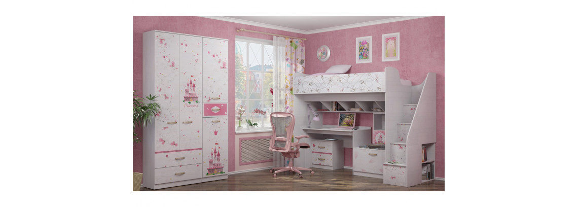 Детская комната «Принцесса»