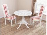 Белые столы для кухни