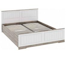 01 Каркас кровати 1600 х 2000 мм Прованс (Дуб сонома/Ясень белый)