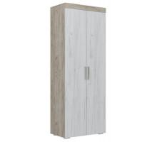 01 Шкаф 2-х дверный для одежды со штангой Амалия