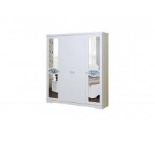 01 Шкаф 4-х дверный для одежды и белья Виктория