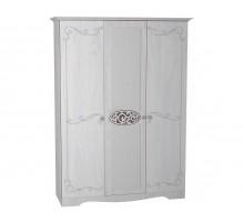 02 Шкаф 3-х дверный для одежды и белья Виктория-1