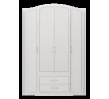 02 Шкаф для одежды 4-х дверный с ящиками (без зеркал) Виктория