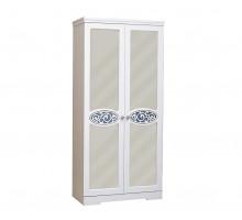 03 Шкаф 2-х дверный для одежды и белья Виктория