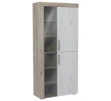 03 Шкаф комбинированный высокий Амалия