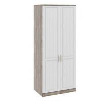 05 Шкаф для одежды с 2-мя глухими дверями Прованс (Дуб сонома/Ясень белый)