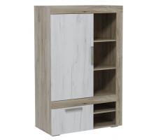 05 Шкаф комбинированный низкий Амалия
