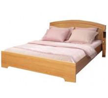 06 Кровать 1400*2000 мм без матраса Венеция (Итальянский орех)