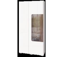 06 Шкаф комбинированный 2х дверный (с подсветкой) Сиэтл
