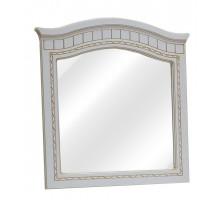 06 Зеркало Гармония (Белое дерево/Патина золото)