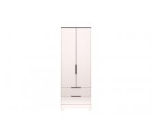 09 Танго Шкаф для одежды с ящиками 2-х дверный (без зеркал)