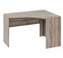 10 Угловой письменный стол Прованс (Дуб сонома/Ясень белый)