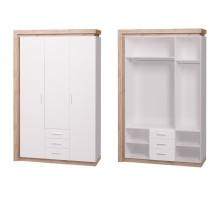 15 Шкаф 3-х дверный (3 ящика) Люмен