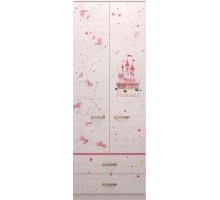 20 Принцесса Шкаф для одежды с ящиками