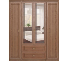2 Шкаф для одежды 4-х дверный с ящиками Лондон
