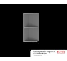 3УВ Шкаф угловой открытый настенный Титан