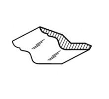 55/19Р Ника-Люкс Комплект декор. элементов (карниз)