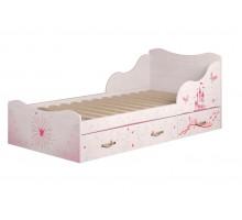 5 Принцесса Кровать на 900 с ящиками (комплектация 1)