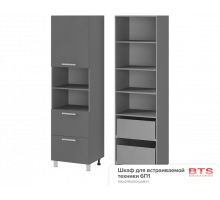 6П1 Шкаф для встраиваемой техники Альфредо