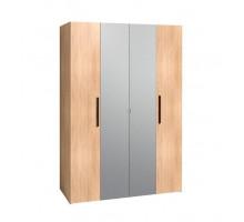 Bauhaus 9 Шкаф для одежды и белья, дуб