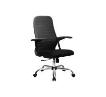 CР-10 кресло Метта (без нижней части) черный/черный/черный