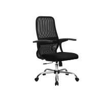 CР-8 кресло Метта черный/черный/черный