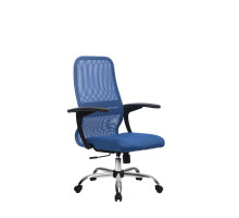 CР-8 кресло Метта синий/черный/черный