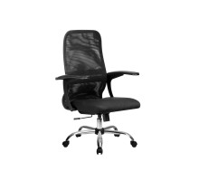 CР-8(Х2) кресло Метта черный/черный/черный