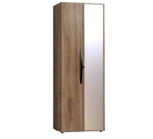 Nature 54 Шкаф для одежды корпус+фасад Зеркало контур+фасад Стандарт
