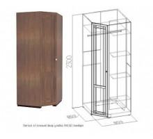 Sherlock63 Шкаф угловой, фасад Стандарт (высота 2300 мм)