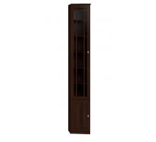 Sherlock 34 (библиотека) Шкаф для книг (скошенный левый), орех