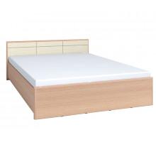 АМЕЛИ 2 Кровать (1600) Дуб отбел. без основания, без матраса