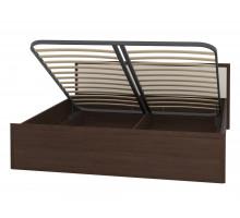 АМЕЛИ 3+3.2 Кровать 140*200 в комплекте с основанием с подъемным механизмом венге