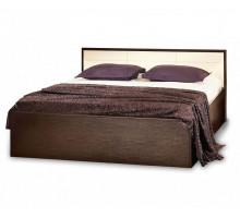 АМЕЛИ 3 Кровать (1400) без основания, без матраса, венге