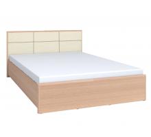 АМЕЛИ ЛЮКС 101+1.2 Кровать 180*200 Дуб отбел. в комплекте с основанием с подъемным механизмом