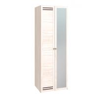 Бриз 54 Шкаф для одежды, ФАСАД Зеркало+Стандарт