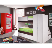 Детская комната Бамбино 3-1 КМК 0527 Комплект