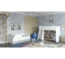 Детская комната Трио Звездное детство, комплект 1