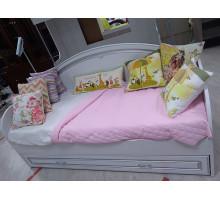 Диван-кровать Melania (Мелания) с выдвижным ящиком (выставочный образец)