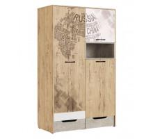 Дублин Стоун Модуль 10 Шкаф для одежды