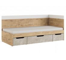 Дублин Стоун Модуль 1 Кровать 0,9, без матраса