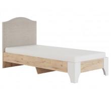 Флоренция Модуль 10 Кровать с мягкой спинкой 0,9, без матраса