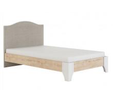 Флоренция Модуль 11.1 Кровать с мягкой спинкой 1,2, б/орт, б/матраса