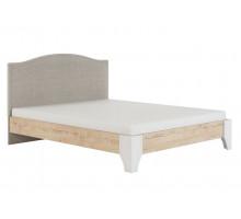 Флоренция Модуль 11.3 Кровать с мягкой спинкой 1,6, б/орт, б/матраса