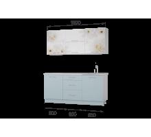 Гарнитур кухонной мебели Флоренс-Скай 1,8 накл.мойка