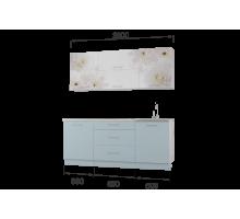 Гарнитур кухонной мебели Флоренс-Скай 2,0 накл.мойка