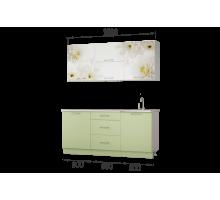 Гарнитур кухонной мебели Флоренс 1,8 накл.мойка