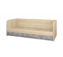 Колибри Кровать с ящиками (Ателье Светлое)