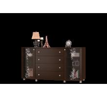 Комод тёмный к гостиной Соната-11