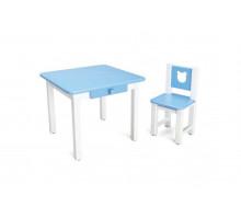 Комплект TEDDY Детский столик и стульчик